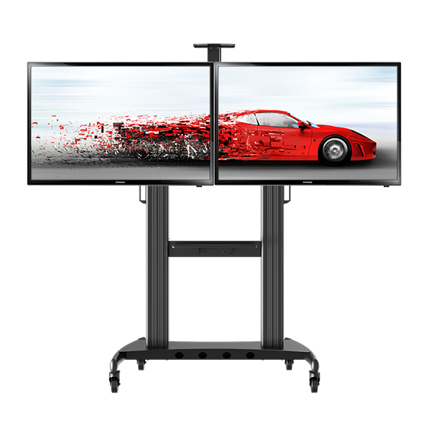 Dual-Screen TV cart NB-131005